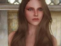 Hair color and makeup test at Skyrim Nexus - mods and ...