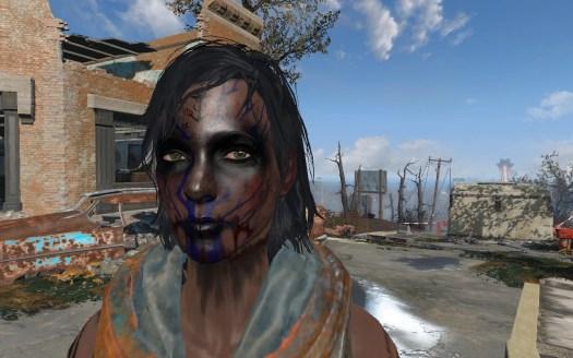 Fallout 4 Makeup Face Paint | Images HD Download