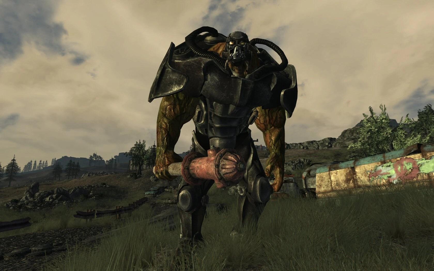 Power Armor Fallout 3 Wallpaper Hd