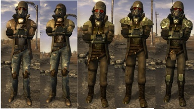 3 Fallout Outfits Female