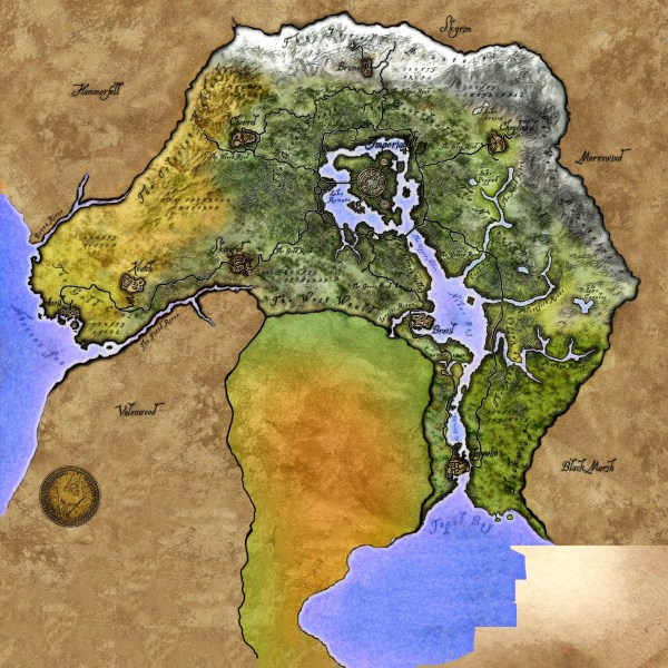 20 Oblivion World Map Pictures And Ideas On Meta Networks