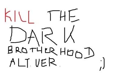 Kill the Dark Brotherhood alternative version at Oblivion