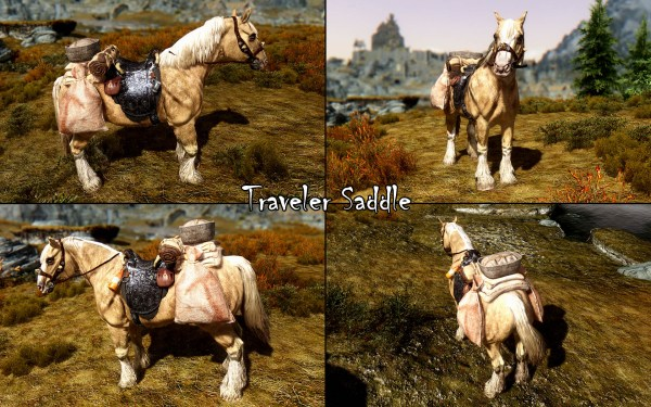 Tame Beasts Of Skyrim Addon Wild Horses - Year of Clean Water