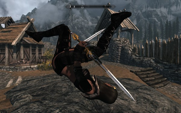 Skyrim New Animations Mod - Year of Clean Water