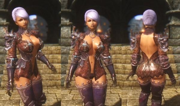 Adec Tera Armor Collection Tbbp Skyrim Nexus Mods And - Year