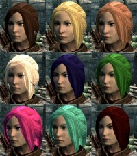 More Hair Colors - Updated at Skyrim Nexus - mods and ...