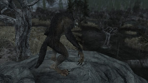 Skyrim Werewolf Skin Mod - Year of Clean Water