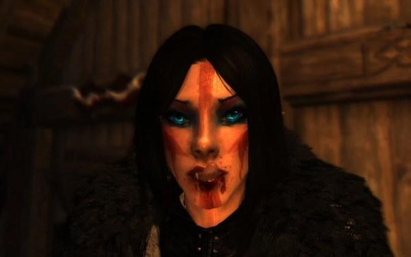 Skyrim Vampire Eyes - Exploring Mars