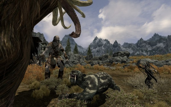 Skyrim Tame Wolf - Year of Clean Water