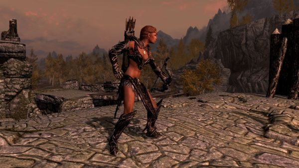 Daedric Armor Skimpy Fem Skyrim Nexus Mods And Community