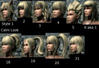 Best Hair Mod For Skyrim | more hair colors at skyrim ...