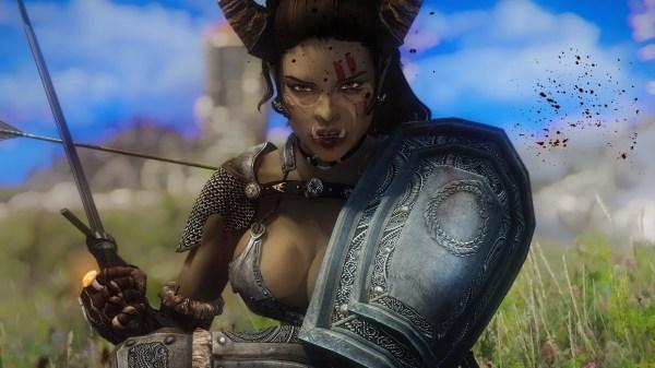 Eitra Orc Follower Preset Included Skyrim Nexus - Year of