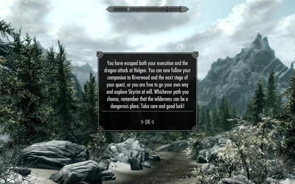 Cave Exit Skyrim Nexus Mods And Community - Year of Clean Water