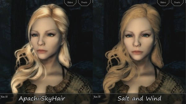 Special Black Hair With White Streaks Skyrim - Year of Clean