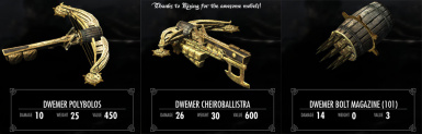 automatic crossbows at skyrim