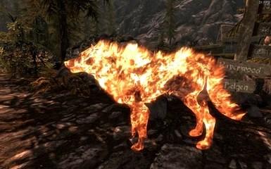 Skyrim Fall Wallpaper Hd Daruk The Fire Wolf At Skyrim Nexus Mods And Community