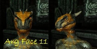 Skyrim Argonian Face Paint