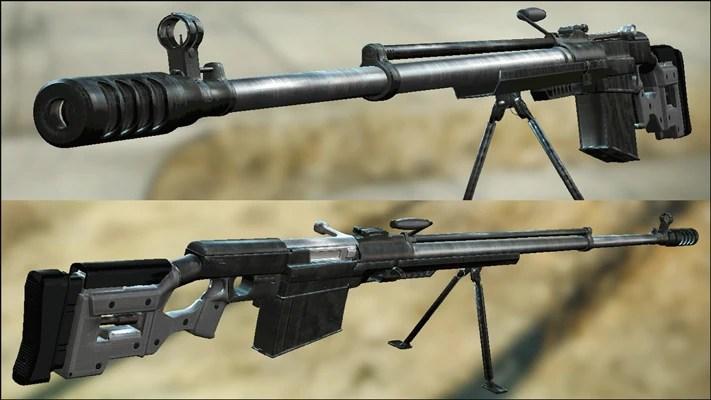 Modular Simonov PTRS 41 Anti Tank Rifle At Fallout 4 Nexus Mods And Community