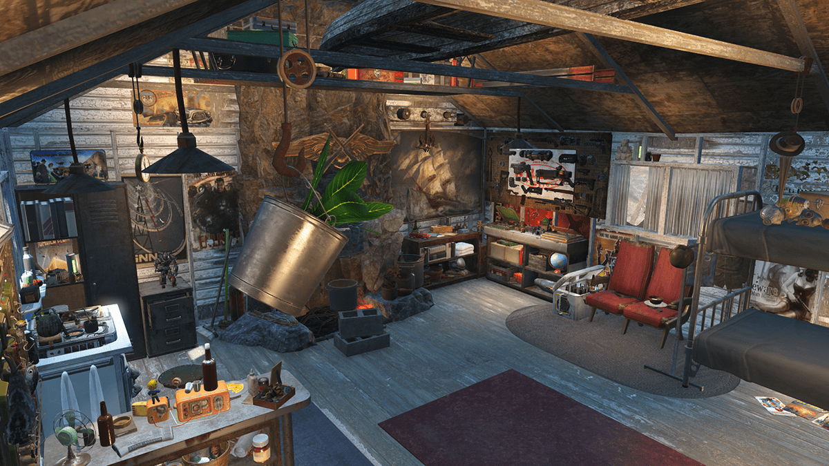 Gorski Cabin Overhaul At Fallout 4 Nexus Mods And Community