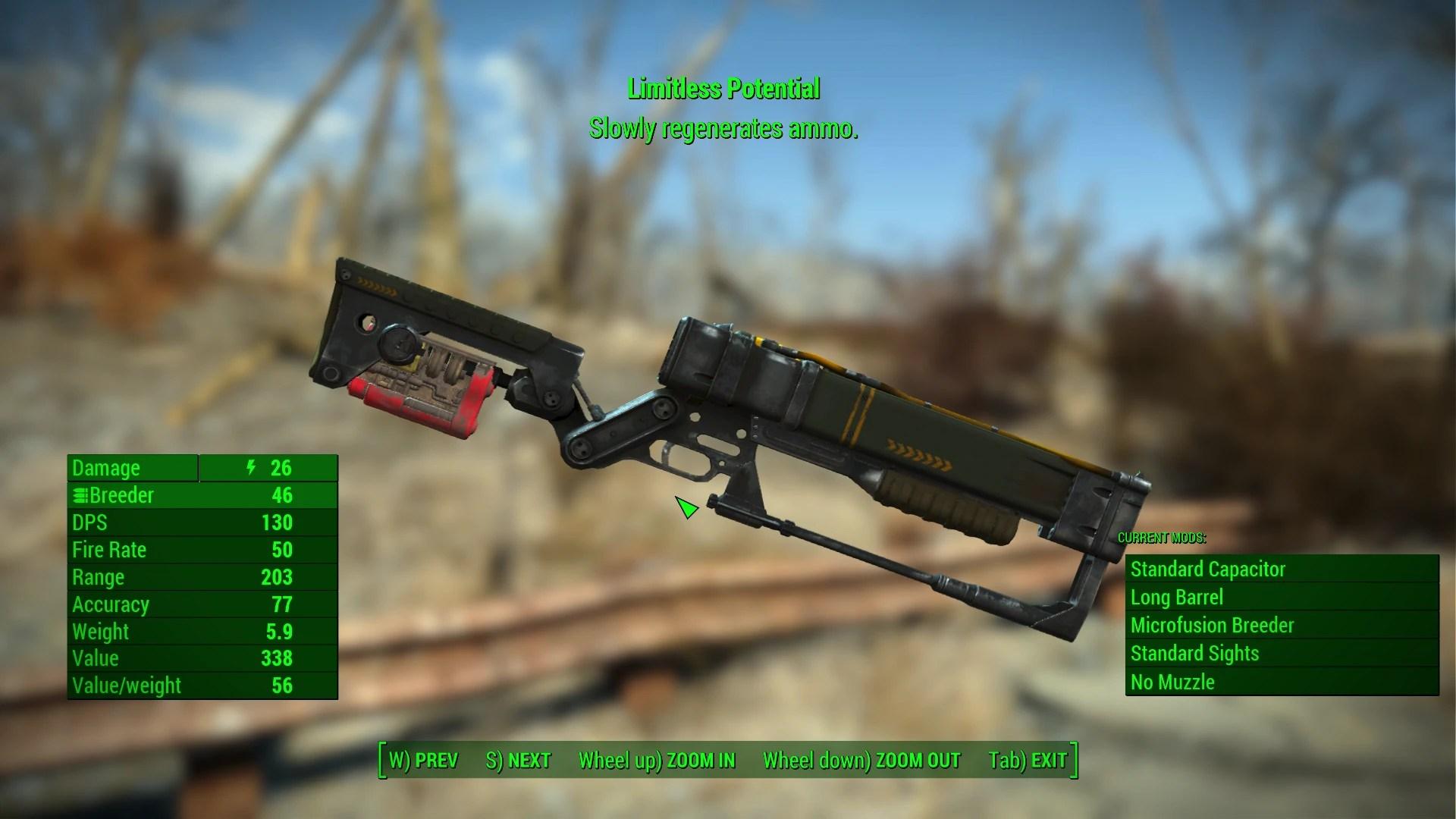 Unique Uniques Fallout 4