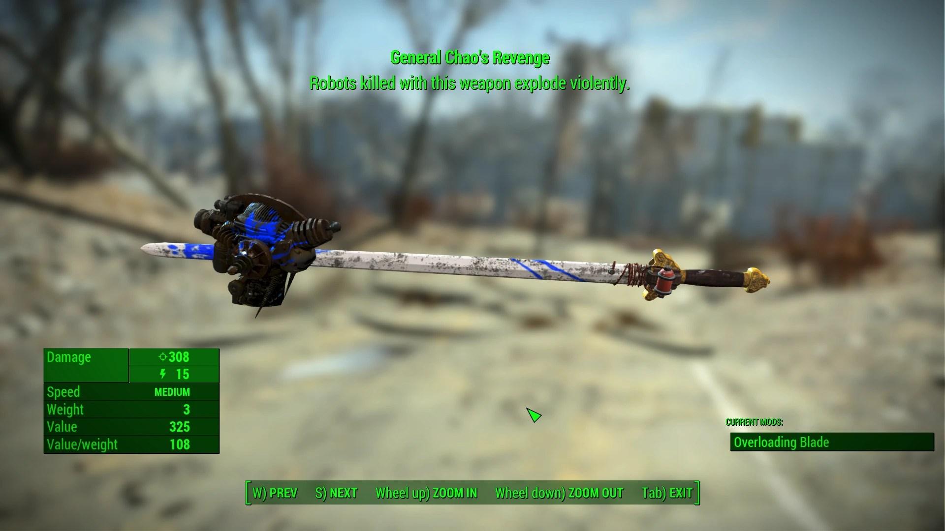 Unique Uniques  Unique Weapons Redone at Fallout 4 Nexus