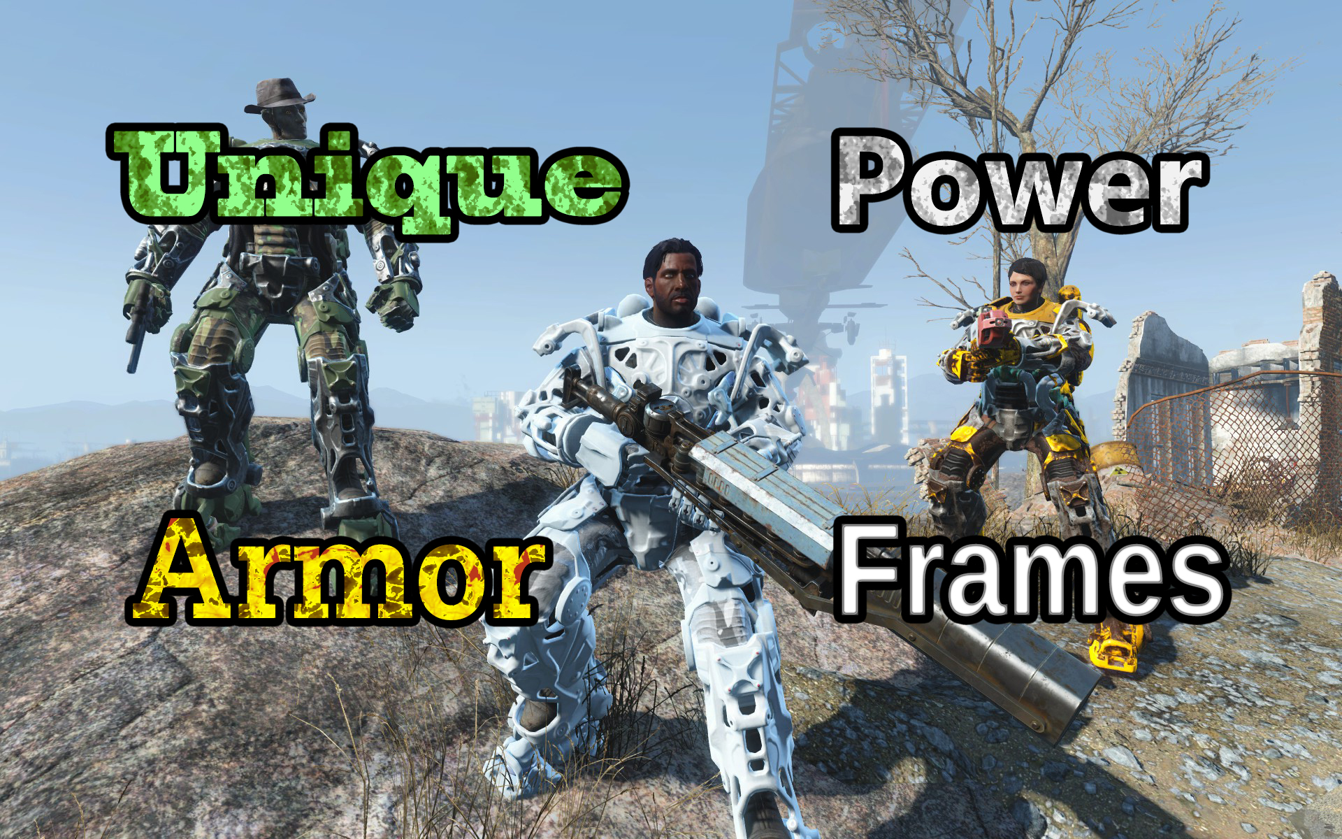 Unique Power Armor Frames at Fallout 4 Nexus  Mods and