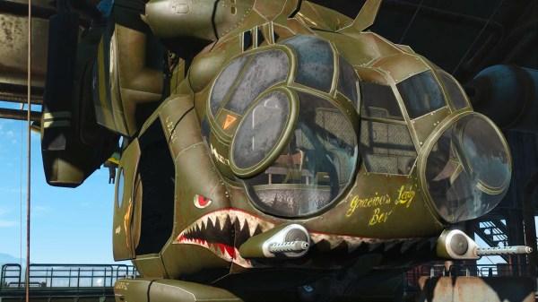 Vertibird Army Retexture Fallout 4 Nexus Mods And - Year of