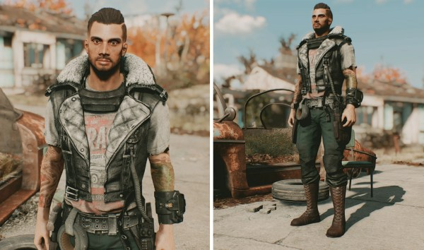 Classy Outfits Fallout 4 Mod - Exploring Mars