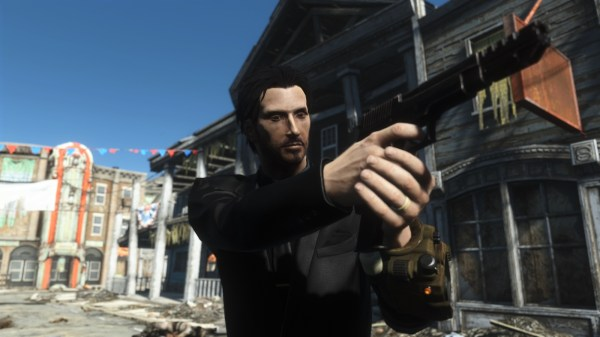 Fallout 4 Character John Wick - Year of Clean Water