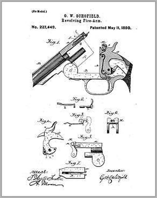 Schofield No. 2 Revolver Replacer at Fallout 4 Nexus