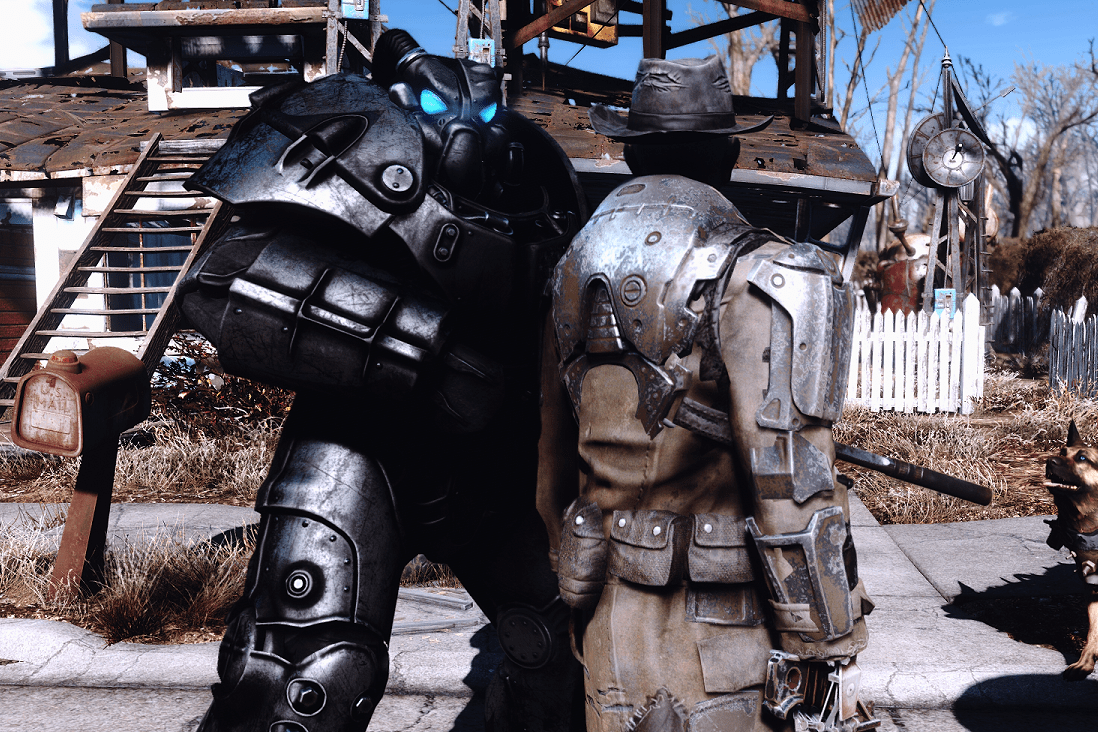 GearUp Nick Valentine At Fallout 4 Nexus Mods And Community