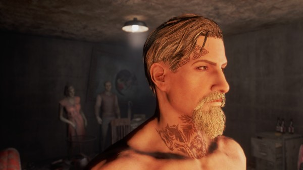 Fallout 4 Mods Tribe Tattoo - Year of Clean Water