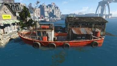 The Red Wave V2 (Far Harbor Update) - Personal Traveling Boat at Fallout 4 Nexus - Mods and community