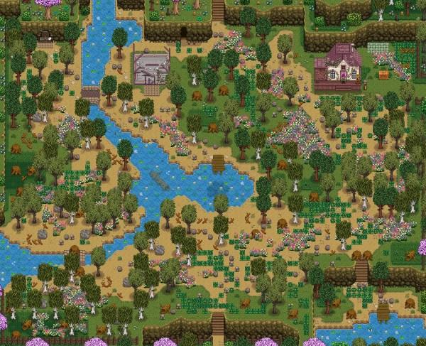 Stardew Valley Location Map Mods - imgMeta