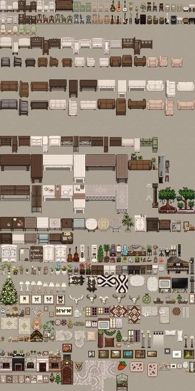 Stardew Furniture : stardew, furniture, Industrial, Furniture, Stardew, Valley, Nexus, Community