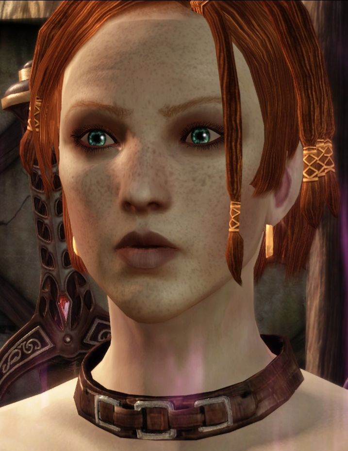 Dragon Age Origins Tucked Hair : dragon, origins, tucked, Ginger, Leliana, Dragon, Origins, Community