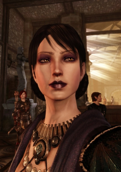 Dragon Age Origins Tucked Hair : dragon, origins, tucked, Saerwens, Morrigan, Dragon, Origins, Community