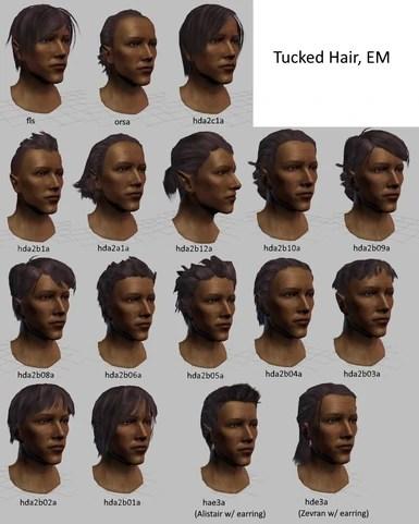 Dragon Age Origins Tucked Hair : dragon, origins, tucked, Tucked, Guide, Dragon, Origins, Community