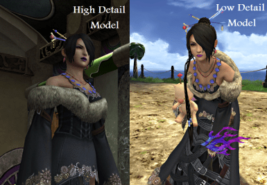 FFX Modest Lulu V2 Less Revealing Clothing At Final Fantasy XX 2 HD Remaster Nexus Mods