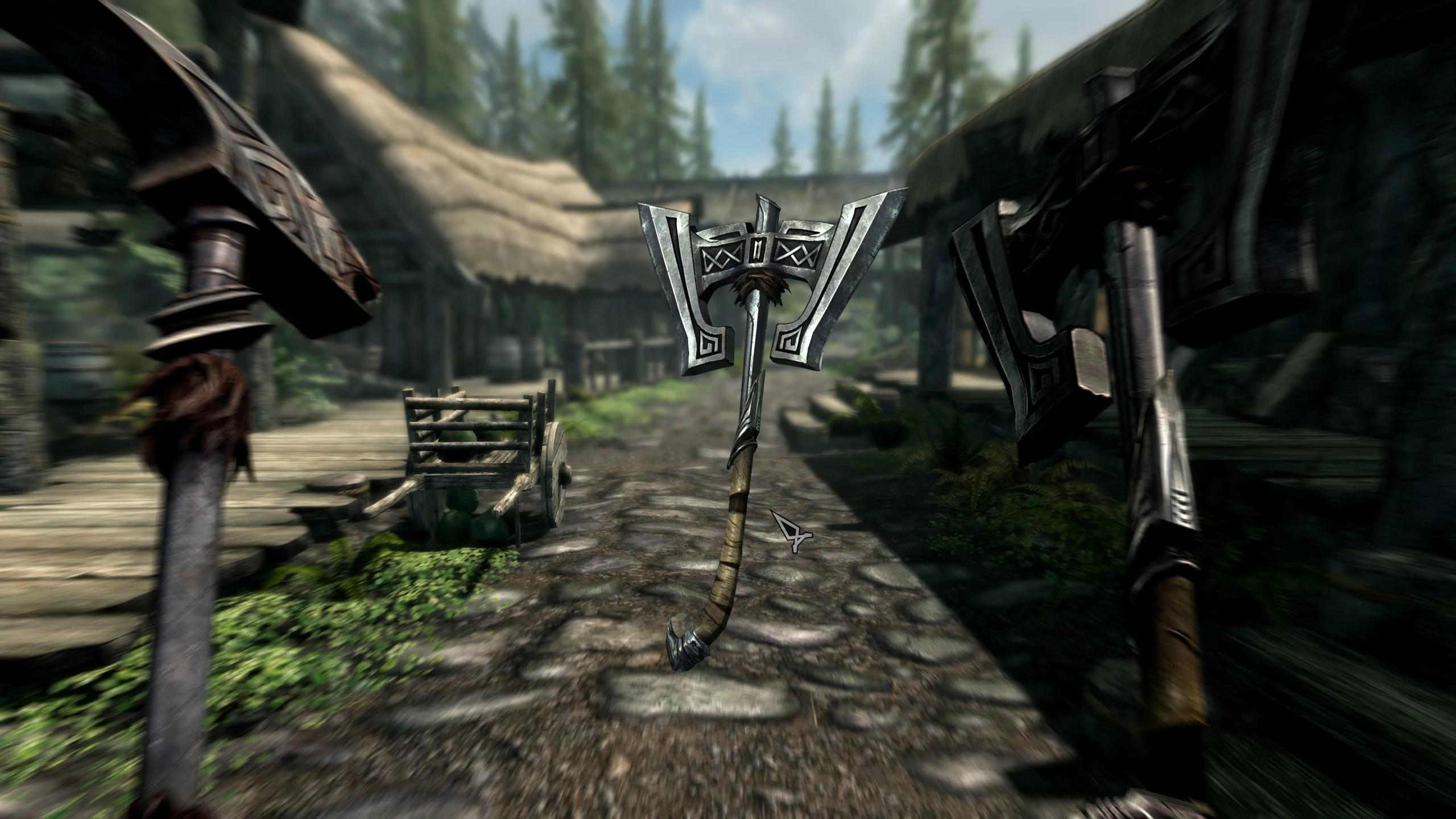 Mods Skyrim Weapons Nexus