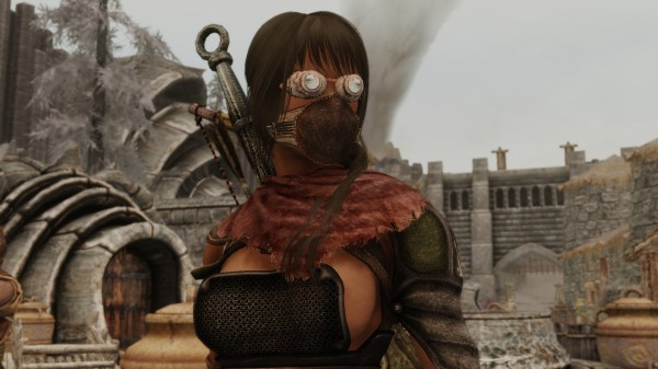 Chitin Goggles Skyrim Special Edition Nexus Mods And - Year