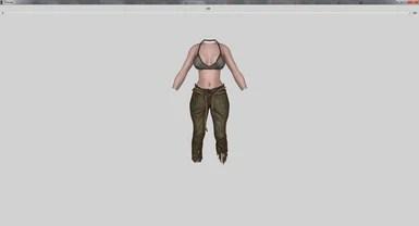 UUNP Vanilla Outfits Bodyslides SE at Skyrim Special