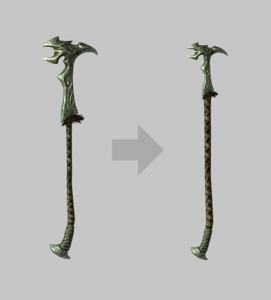 Believable warhammers at Skyrim Special Edition Nexus
