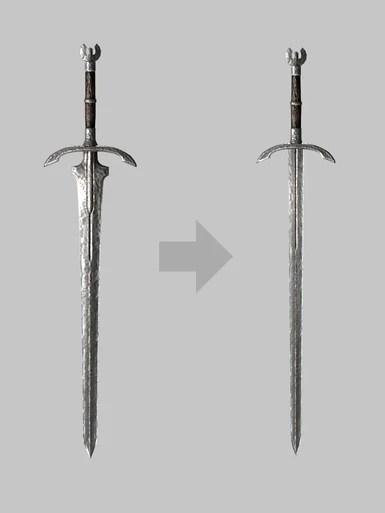 Believable greatswords at Skyrim Special Edition Nexus