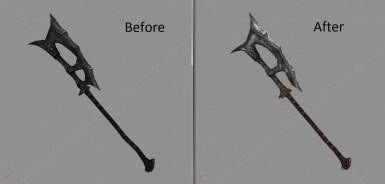 LeanWolf's Better-Shaped Weapons SE at Skyrim Special