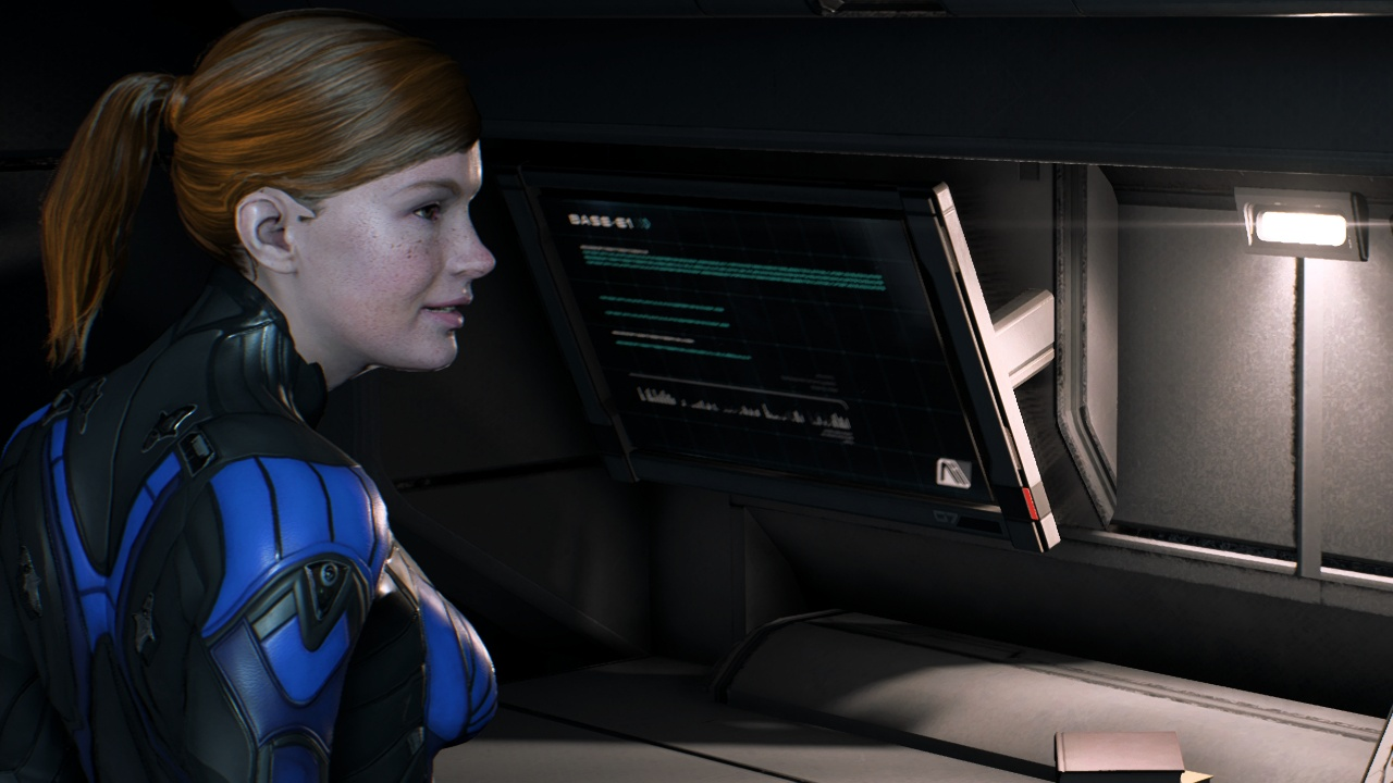 Ginger Cora at Mass Effect Andromeda Nexus - Mods and Community