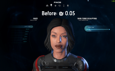 Character Creation - Pale Skin Unlocked at Mass Effect Andromeda Nexus - Mods and Community