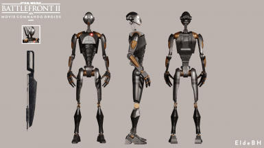 Elde's Movie Commando Droids. at Star Wars: Battlefront II