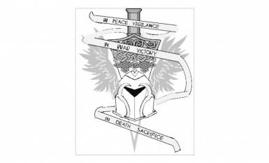 Grey Warden Helmet Banner at Mount & Blade II: Bannerlord