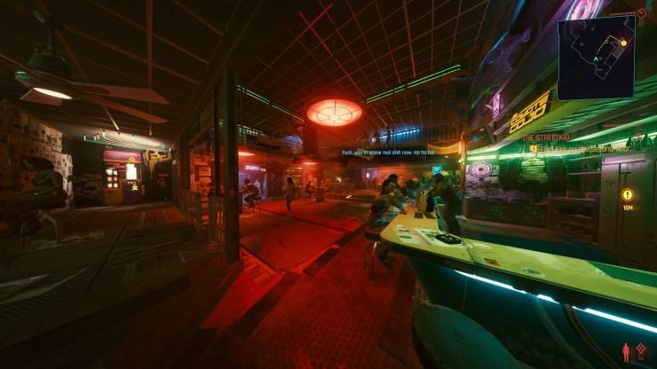 Agora você pode ter um grande campo de visão em Cyberpunk 2077.